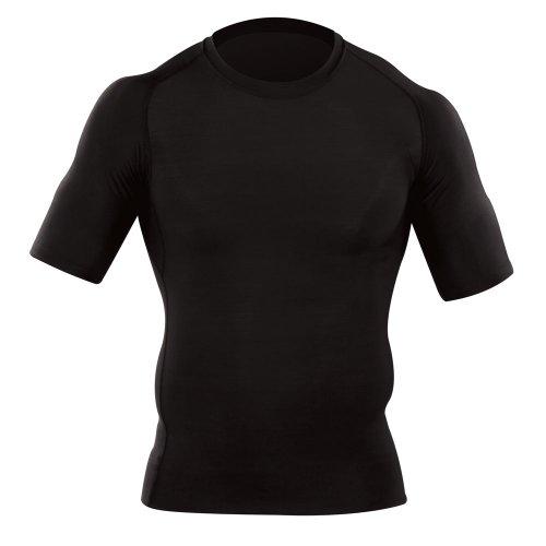 5.11 Camisa ajustada de manga corta para hombre táctica, ajuste atlético, tecnología de absorción de humedad, estilo 40005
