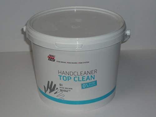 Tip Top Hand Cleaner Top Clean 5 Liter, 0% MICRO-PLASTIC, Handreiniger, Handwaschpaste 593201