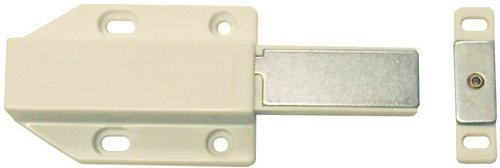 Touch Latch Magnetic Push Open Door Latch For Large Doors - White - 2 - Touch Latch Sugatsune