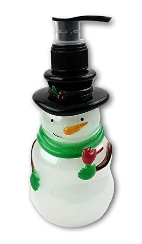 Oberstuff Frosty The Snowman Shaped Scented Liquid Hand Soap Dispenser. 10.5 Fluid oz. -