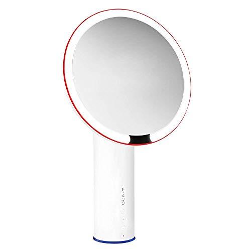 Amiro Smart Lighted Makeup Mirror with Natural Daylight LED Lights, Motion Sensor, - Bathroom Mirrors Size Custom Led