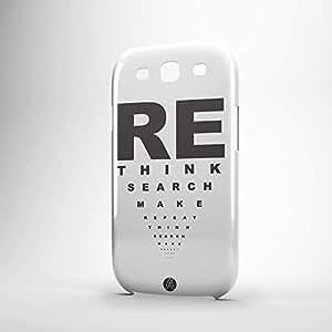 Rethink Samsung S3 3D wrap around Case - Designer