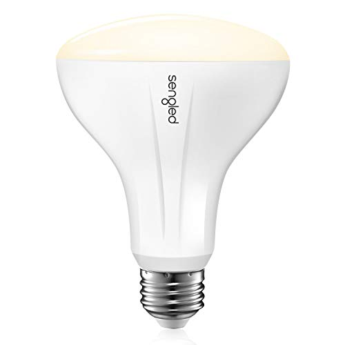 Sengled Smart Light Bulb that Works with Alexa and Google Home, BR30 Dimmable Soft White 2700K, Alexa Light Bulbs 65W Equivalent, 650 Lumen LED Light Bulbs with E26 Base, 2.4G 5G, Hub Required, 1 Pack