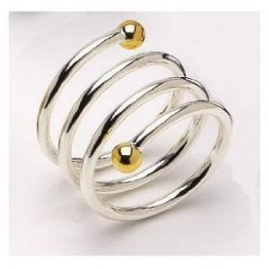 band collections spiral mills gold forged filled ring rings triple j