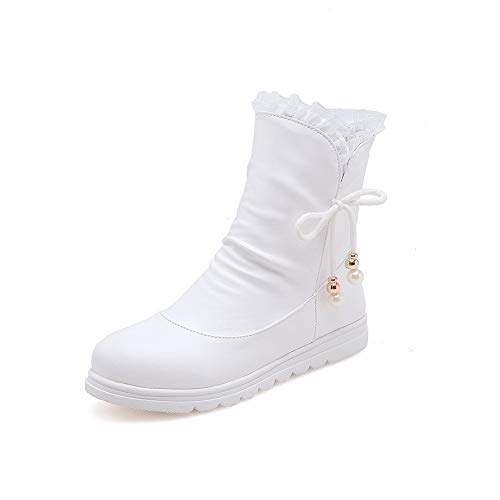 5 Blanc 36 Balamasa Femme Sandales Blanc Abl11200 Compensées wxqg0zq7