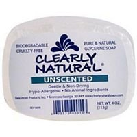Loofah And Bar Of Soap Costume (dolly2u Clearly Natural Glycerine Bar Soap Unscented - 4 oz)