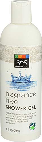 365 Everyday Value, Fragrance Free Shower Gel, 16 Ounce