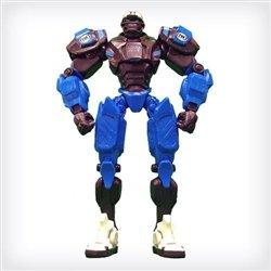 "Carolina Panthers 10"" Team Cleatus FOX Robot NFL Football Action Figure Version 2.0"