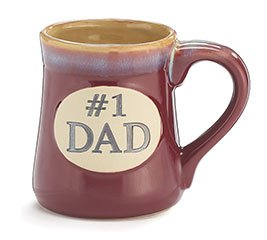 #1 Dad Porcelain Mug - 9730319