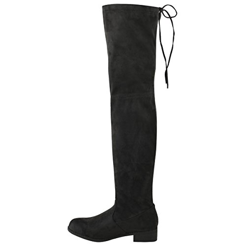 Amazon.com | Fashion Thirsty Womens Low Heel Thigh High Over The ...