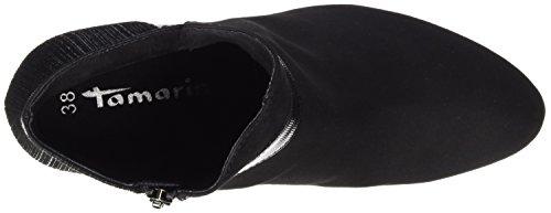 Botas para Negro Comb 25370 Tamaris Black Mujer aqZx58zw