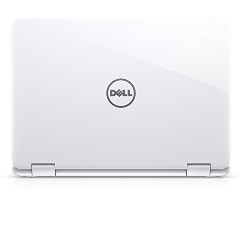 Dell i3168-3273WHT 11.6' HD 2-in-1 Laptop (Intel Pentium, 4GB, 500 GB HDD, Windows 10) - White