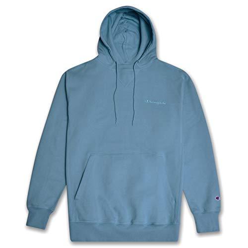 (Champion Big and Tall Mens Pullover Hoodie Sweatshirt Vintage Wash Corn Teal 3X)