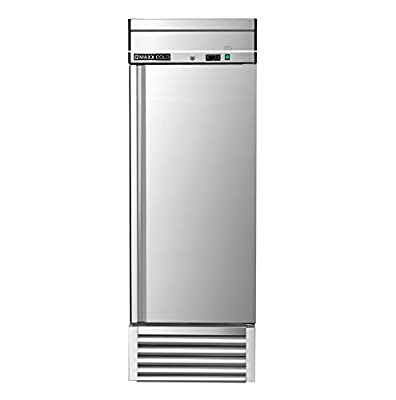 Maxx Cold MXSR-23FD One Door Reach-In Upright Commercial NSF Refrigerator Cooler - ENERGY STAR