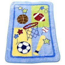 Little Rookie Hi Pile Blanket by Triboro Quilt Mfg Co   B001JFBI6A