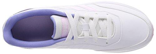 adidas Vs Switch 2, Zapatillas Para Niñas Blanco (Ftwbla/Aerorr/Purtiz 000)