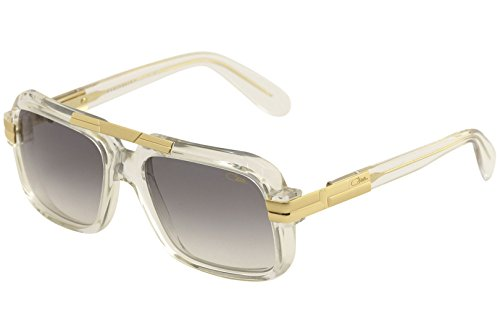 8fbe54b772 Cazal Legends Men's 663 065SG Crystal/Gold Retro Pilot Sunglasses 56mm