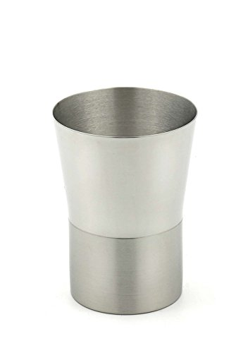 StainlessLUX 71185 Two-tone Stainless Steel Tumbler (8 Oz) - Fine Drinkware for Your Home