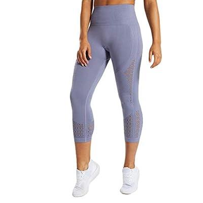 Women Sports Mesh Trouser Gym Workout Fitness Capris Yoga Pant Legging Capri Legging Yoga Pants Running Tights