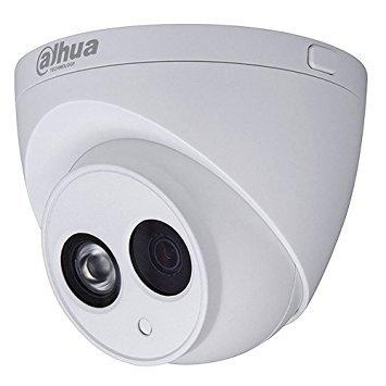 Dahua - Cámara Domo Profesional 4 Mpx IP POE, optica fija 2,8 mm, con iluminación infrarroja, y Microfono: Amazon.es: Bricolaje y herramientas