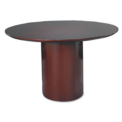 Tiffany Industries NCRB48MAH Napoli Series 29-1/2Inch Round Conference Table Base, Mahogany