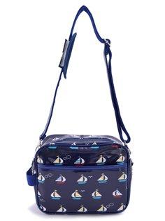 In den Kindergarten gehen Kinder Tasche Schultertasche stilvollen Yachtreise Urlaub (Marine) in Japan N0524700 (Japan-Import) gemacht