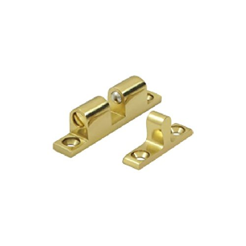 Deltana BTC10U3 Solid Brass 1.8-Inch x 0.3-Inch Ball Tension Catch (Brackets Handrail Deltana)
