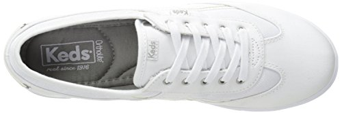 T-toe Twill Sneaker Bianca Da Donna