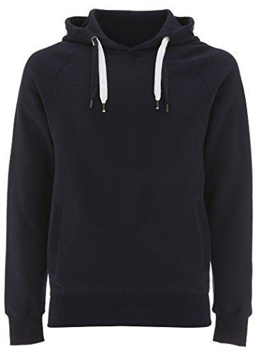 Underhood of London Navy Pullover Hoodie for Women - Medium- Womens Hooded Organic Cotton Sweatshirt ()