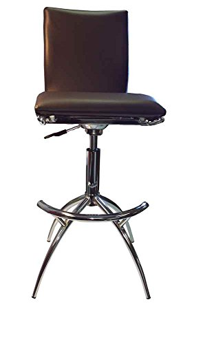 New Spec Inc Barstool in Brown-Set of 2 529383