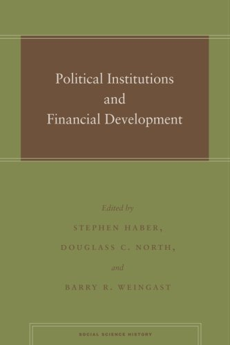 Political Institutions and Financial Development (Social Science History)