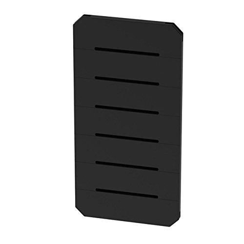 GOGO Panels - P2BB - Black - Half Panel 1' x 2' - 1 Panel