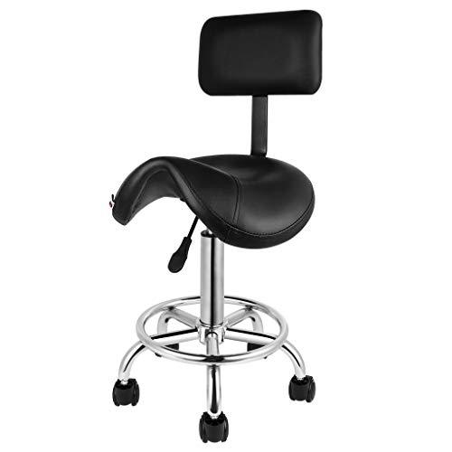 Artist Hand 360 Degrees Ergonomic Swivel Salon Stools Adjustable Hydraulic Hair Style Salon Stool Chair Tattoo Barber Stool Chairs With Backrest