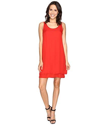 Silk Scoop Neck Dress - 3