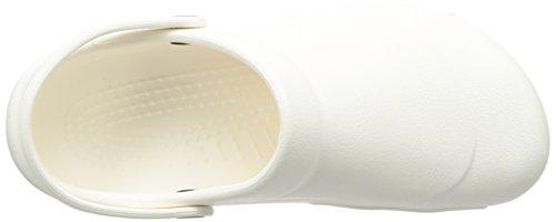 White Bianco con Vent Zuecos unisex correa Crocs Specialist xw0UYq6p4