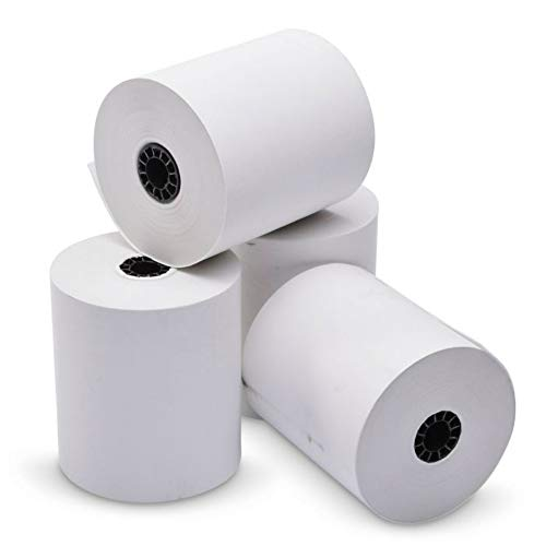 TEK POS Paper 3 1/8 in x 230 ft Thermal Paper - MADE IN THE USA - BPA Free (50 Pack) ()