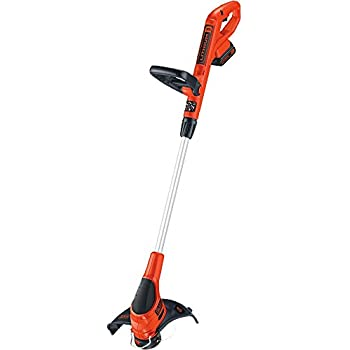 BLACK+DECKER LST220 20V Lithium Ion Cordless GrassHog Trimmer/Edger, 12""