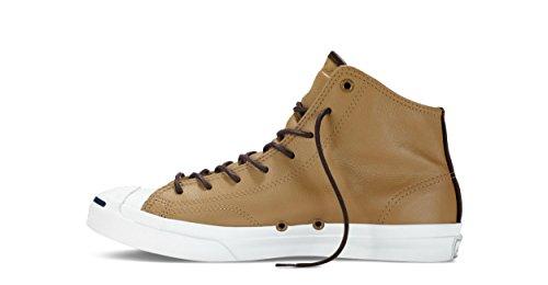 Converse Jp Jack Mid Fashion Sneaker Scarpe In Pelle Sabbia / Duna