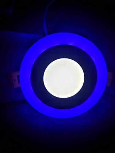 Led Ceiling Light Blue+White