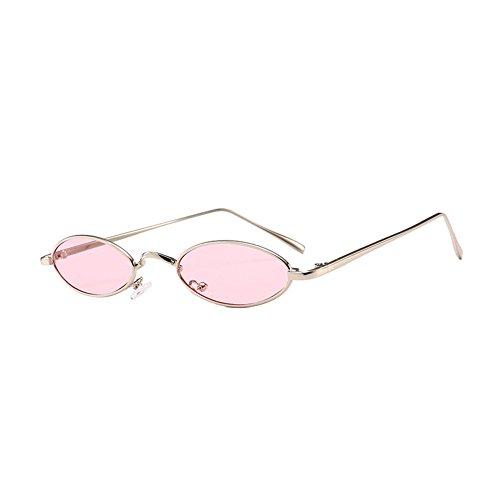 gafas retro en sol estrechas de sol HuicaiCápsula unisex de C10 forma ovales gafas de 8WHqSAn