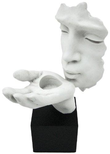 Candle Lite Votive Candle - Blowing A Kiss Votive & Tea Lite Candle Holder Statue