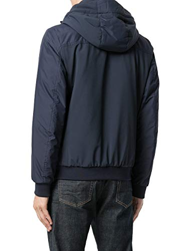 Uomo Blu Wocps2576cr10 Woolrich Poliestere Giacca Outerwear qExwPwUnT