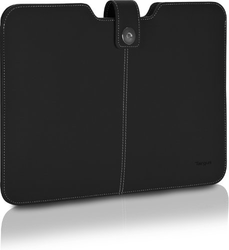 (Targus Twill Sleeve for 11.6-Inch Laptops/Ultrabooks/MacBook Air/MacBook Pro, Black (TBS610US))
