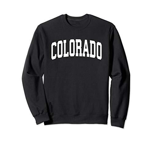 Colorado Crew Sweatshirt - Colorado Crewneck Sweatshirt Sports College Style State Gift