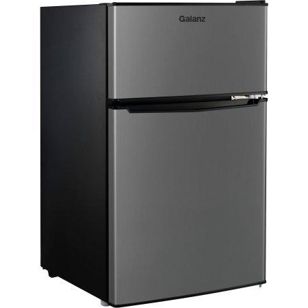 2 Door Stainless Steel Dorm Size Refrigerator Top 10
