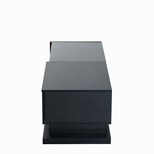 HomCom 51'' Modern TV Stand Media Center - Black by Overstock (Image #5)'