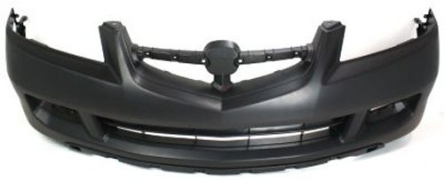 Crash Parts Plus Primed Front Bumper Cover Replacement for 2004-2006 Acura MDX