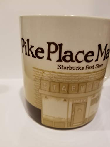 2008 Starbucks Pike Place Market Icon Global Collector Series Tea Mug (2008 Icon)