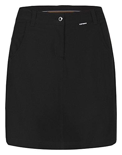 ICEPEAK Damen Skirts Sylvia, Black, 38, 555982522I
