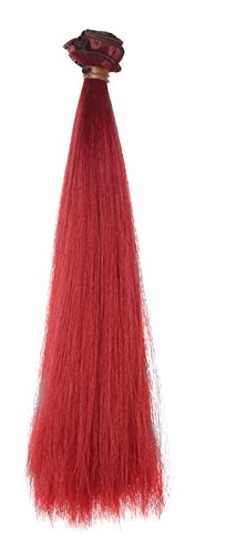 red 100 cm wig - 7